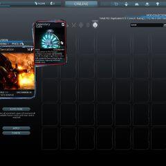 Exclusivo Núcleo Legendario visto en el juego.