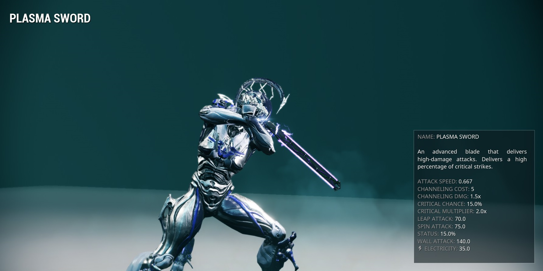 Plasma sword warframe wiki fandom powered by wikia malvernweather Choice Image