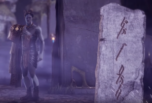 Stone tablet mimic