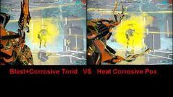 Torid VS Pox!