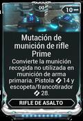 Mutación de munición de rifle Prime