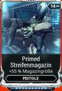 Mod Pistole PrimedStreifenmagazin