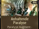 Anhaltende Paralyse
