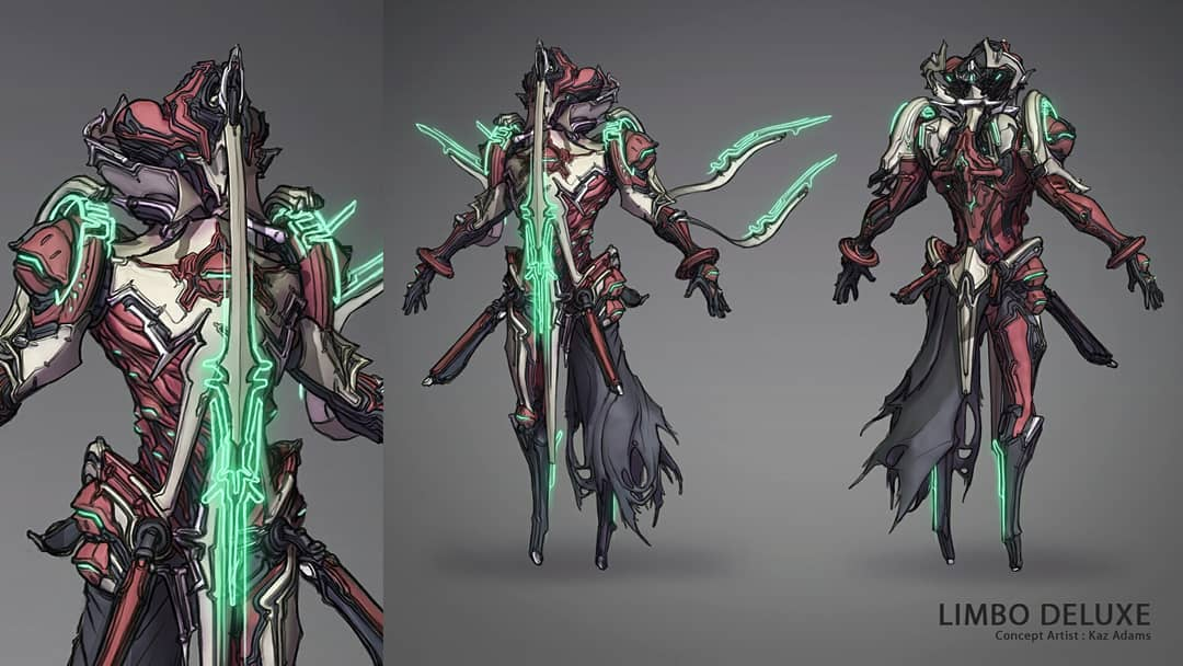 Limbo Deluxe Skin - General Discussion - Warframe Forums