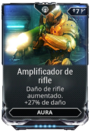 Amplificador de rifle