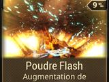 Poudre Flash
