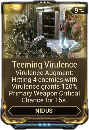 Teeming Virulence Warframe Wiki Fandom Powered By Wikia