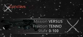 Conclave Mission