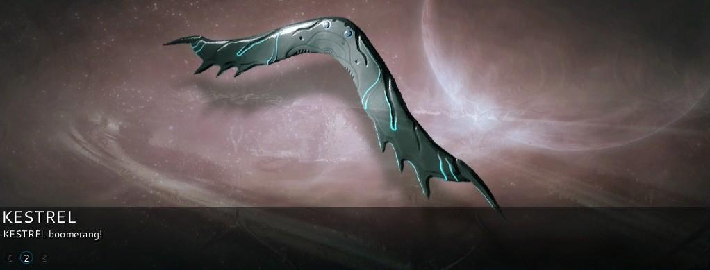 warframe glaive vs kestrel