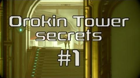 Секреты башни Орокин №1 Комната с плитами
