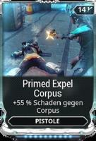 Primed Expel Corpus