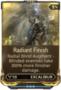 Radiant Finish