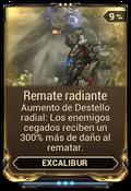 Remate radiante