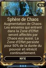 Sphère de Chaos