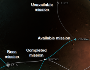 U19 mission interface