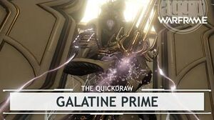 Warframe Galatine Prime, A Beauty of a Beast Pt