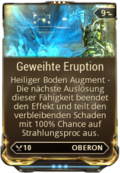 Mod Augment GeweihteEruption