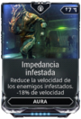 Impedancia infestada