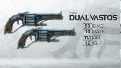 Tenno Reinforcements - Dual Vastos