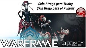Warframe. Trinity Deluxe Skin Colection