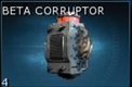 Warframe Beta Corruptor
