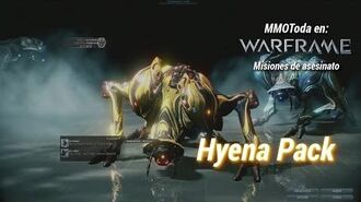 Warframe en la misión de asesinato de Psamathe de Neptuno con el jefe Hiena Pack