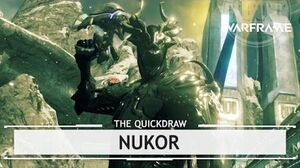 Warframe Nukor, Dreams Can Come True! thequickdraw