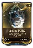 Lasting Purity