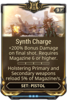 Synth Charge