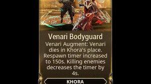 WARFRAME - Venari Bodyguard Khora Augment (Experimental Loadout)