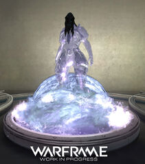 Warframe Hydroid Relay Statue