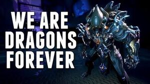 Warframe I AM A CHROMA MAIN WE ARE FOREVER DRAGONS!