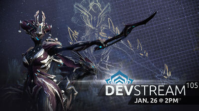 Devstream 105 banner