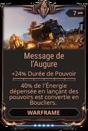 Message de l'Augure