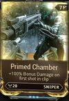 Primed chamber