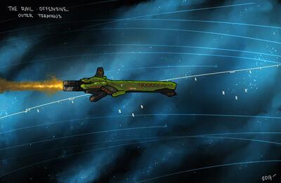 Gorgon the best rifle of warframe by panzermeido-d71i2oo