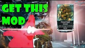 Rev Up Those Expel Mods! (Primed Expel Grineer Showcase)