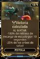 Victoria calculada