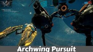 Warframe Archwing Pursuit Pandora Saturn