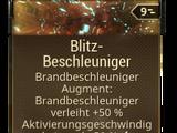 Blitz-Beschleuniger