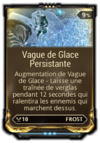 Vague de glace Persistante