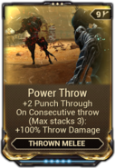Power Throw