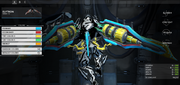 Archwing color correspondence