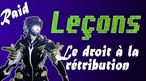 FR Gentle Tenno - Leçon du RAID