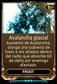 Avalancha glacial