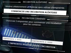 Incubation aleatoire