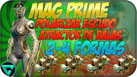 Atractor de Balas -2-4 formas- Warframe Español