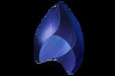Azurita cortada