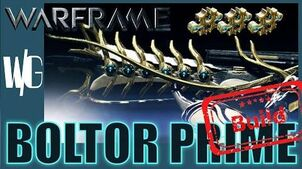 BOLTOR PRIME SUPREME BUILD 3 forma - Warframe Builds update 17