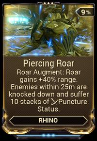 PiercingRoarMod